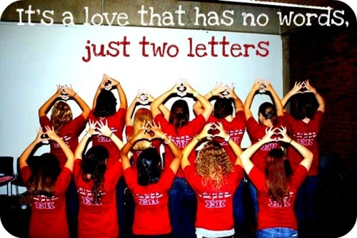 love. Just two letters. Sigma Kappa: Sigmakappa, Quote, Poster
