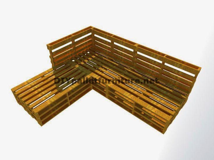 Gu a paso a paso para hacer - Sofas con palets de madera ...