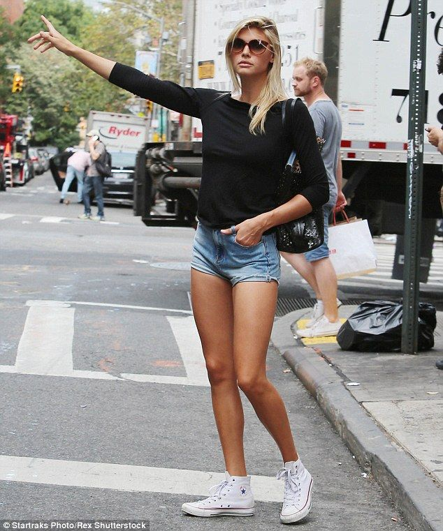 Looking good: Kelly Rohrbach can clearly afford the extra calories, as she showed off her ...