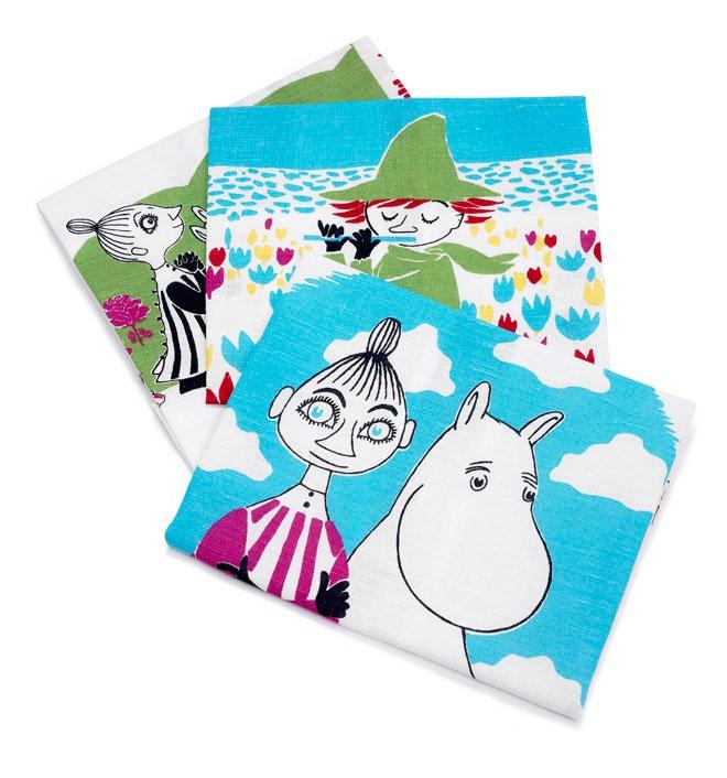 Finlayson Muumi kitchen towel set I Muumi-keittiöpyyhesetti 30 €