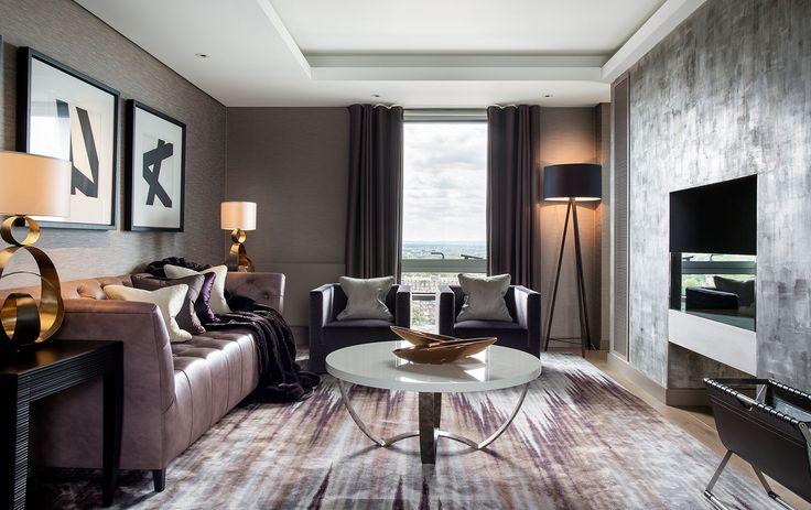 Living Room Inspiration by @renedekkerdsgn   Best UK Designers. Interiors. Modern Living.   #UKdesign #homedecor #modernhomes   More at: https://brabbu.com/