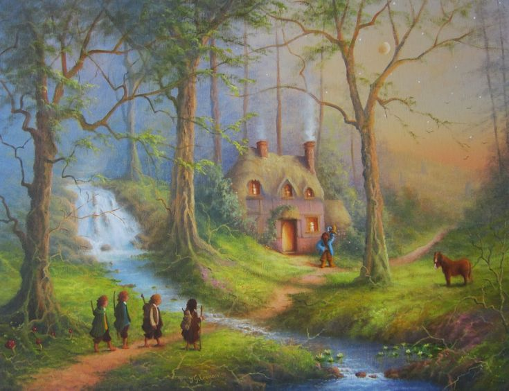 The House Of Tom Bombadil. << I still wish they had put him in the movie! He was by far the coolest character xD