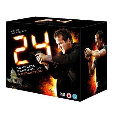 24 - Complete - Season 1-7 (Plus 24 - Redemption) [Edizione: Regno Unito]