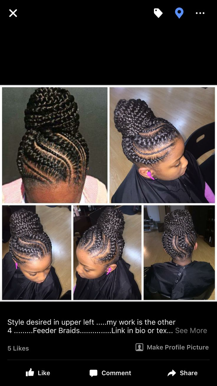 Feeder Braids Hair Care Amp Styles For My Sistas