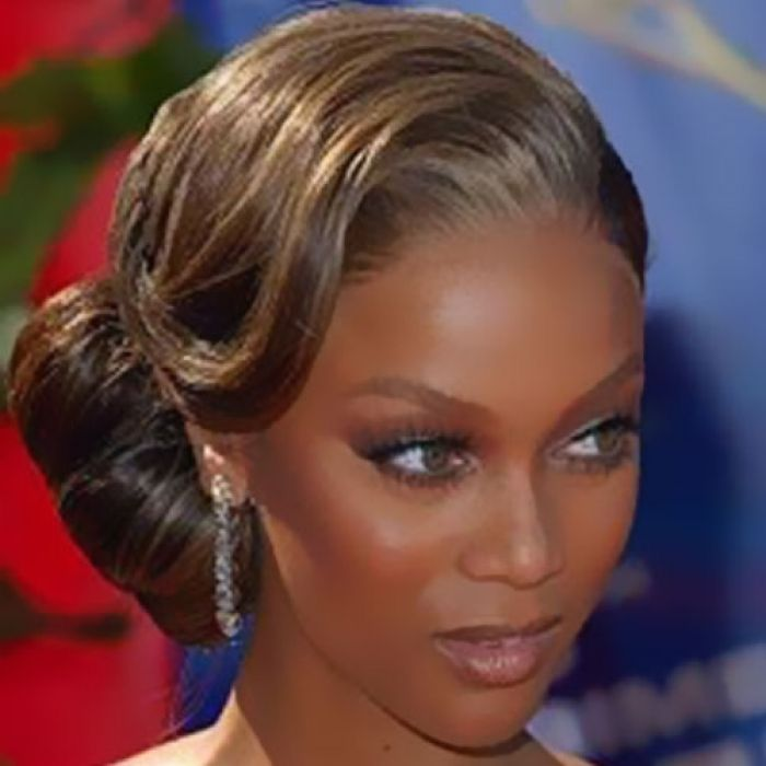 Tyra Banks Updo: 17 Best Images About Prom Updo Hairstyles On Pinterest