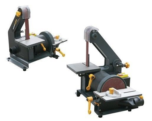 """1"""" x 30"""" TABLE TOP BELT AND MINI DISC POWER SANDER TOOL DISK FOR WOOD OR METAL"""