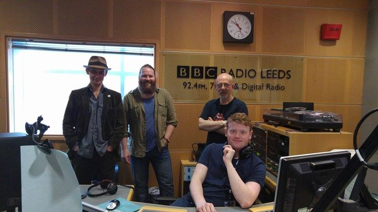 Featuring on BBC Radio Leeds with Nick Ahad Breakfast show