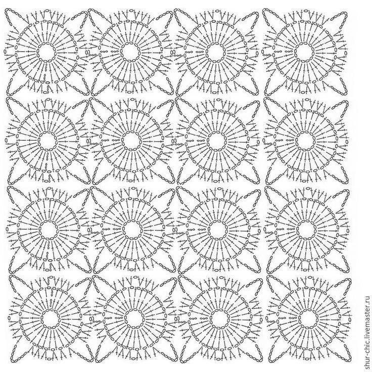 Mejores 44 imágenes de Crochet, Tejido y más en Pinterest | Punto de ...