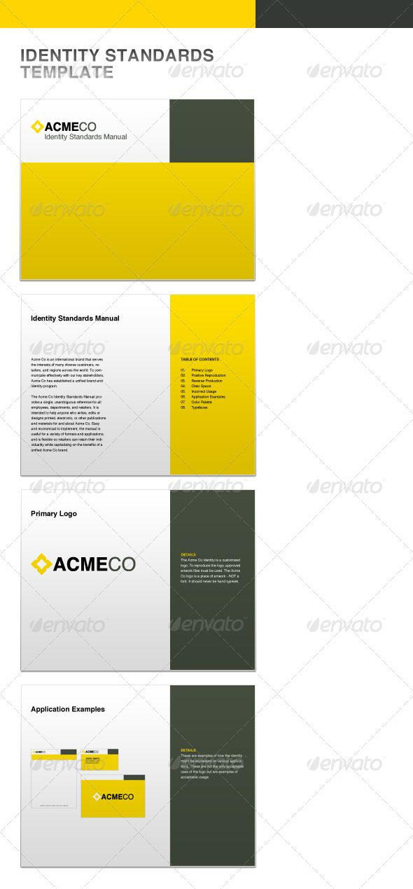 Example Of Graphic Standard GuideManual  Graphic Standards Guide