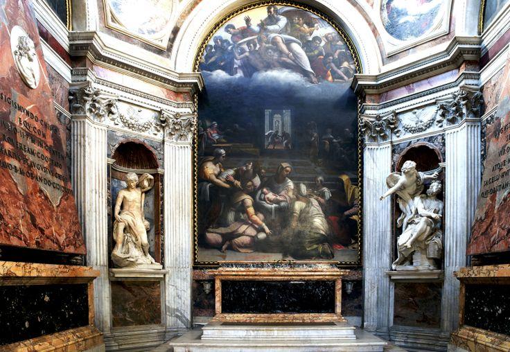Santa Maria del Popolo   Cappella Chigi   chiese Roma