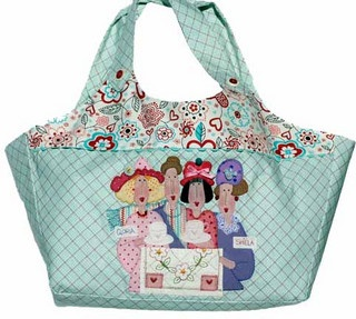Red Brolly Large Lip gloss girls carry bag by Bronwyn Hayes designer for Red Brolly, via Flickr