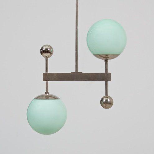 Bauhaus Ceiling Light, 1930