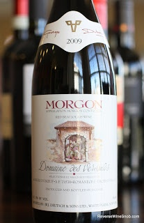Georges Duboeuf Morgon Domaine des Versauds Beaujolais 2009 - A Beauty of a Beaujolais! $15  http://www.reversewinesnob.com/2013/01/georges-duboeuf-morgon-domaine-des-versauds-beaujolais.html