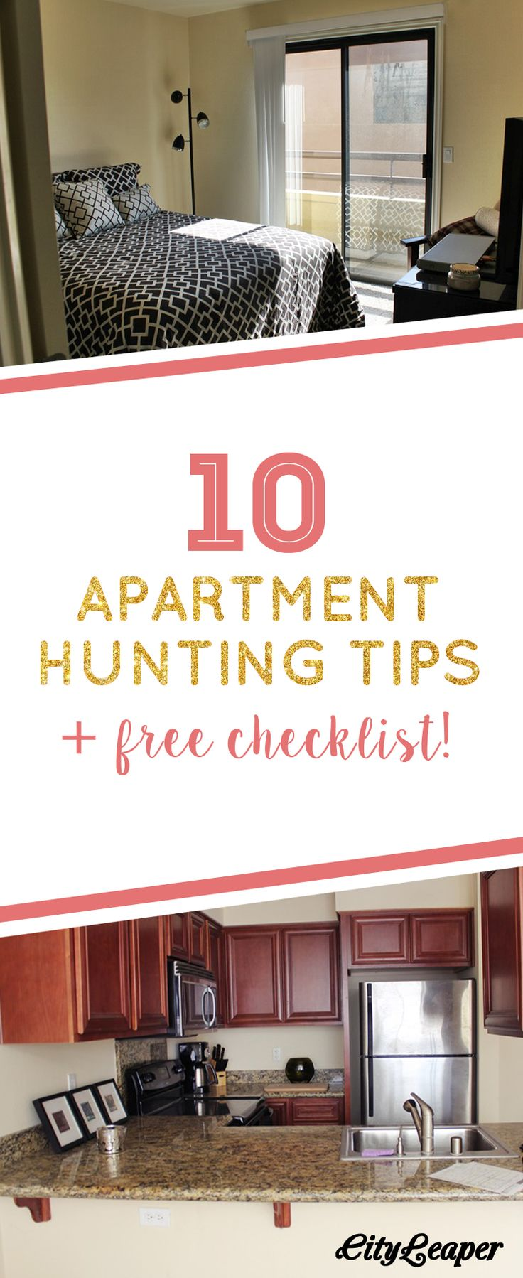 You need these 10 Apartment Hunting Tips before you move in to your dream place! Plus, download our printable checklist to help you decide which apartment is the best fit for you.