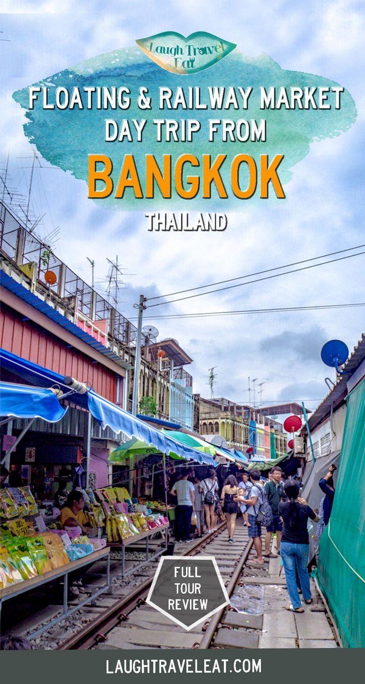 Amphawa Floating Market And Maeklong Railway Market Day Trip