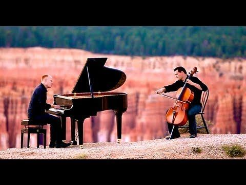 "The classed-up version of David Guetta's ""Titanium"" by The Piano Guys. 