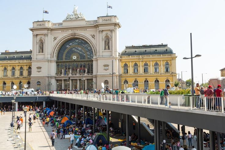 European Migration Crisis: It's a Long Way from Greece to Germany - BUDAPEST, HUNGARY - SEPTEMBER 01: Stranded Refugees and Migrants camp in front of the eastern Train Station Keleti Palyudvar on September 01, 2015 in Budapest, Hungary. Photo: Spectral-Design / ShutterstockAccording to the United Nations' refugee agency (UNHCR), 366,402 people cro...