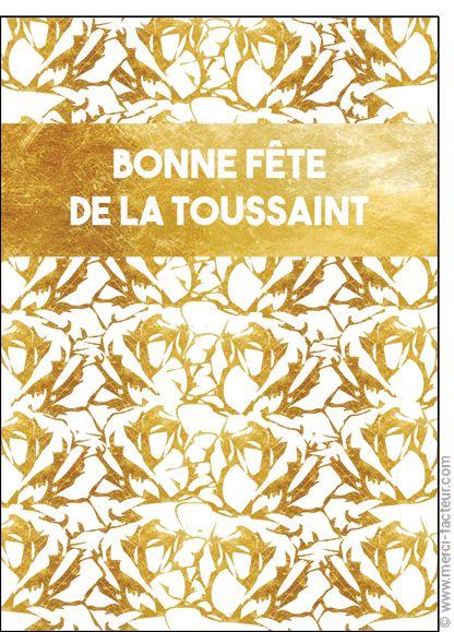 Carte Bandeau bonne f�te de la Toussaint pour envoyer par La Poste, sur Merci-Facteur !  #carte #dessin #photo #squelette #fleurs #toussaint #bouquet #card #calavera #skull #flowers #drawing #allsaints