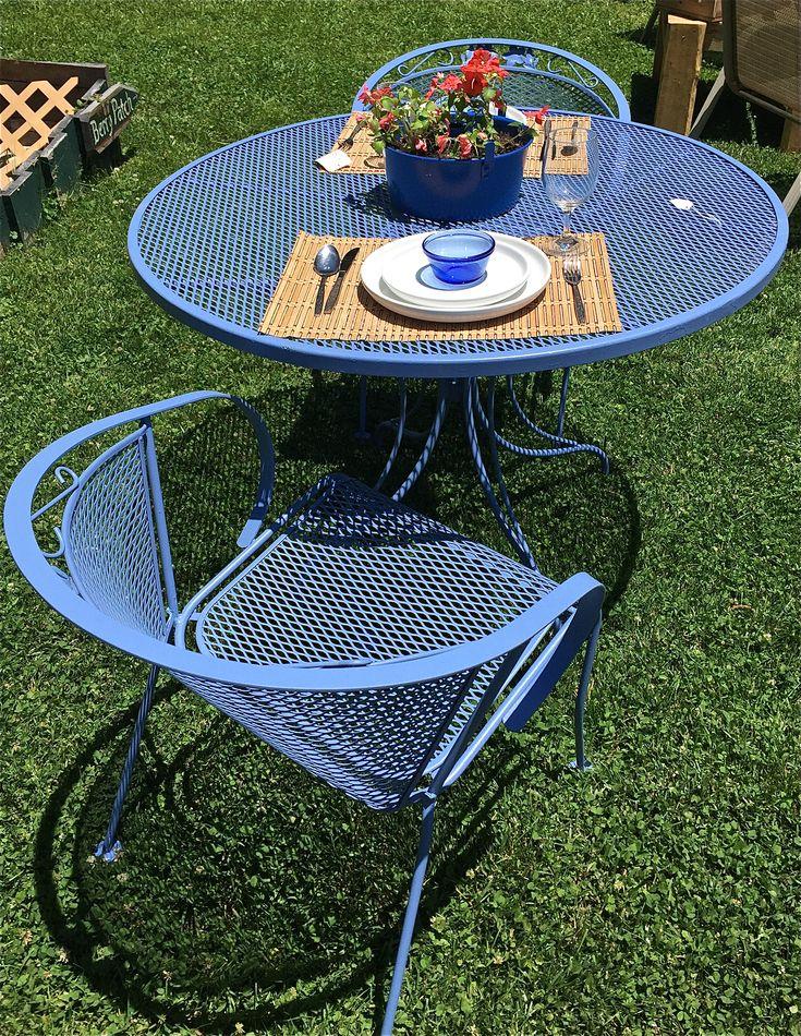 Best + Vintage patio furniture ideas on Pinterest