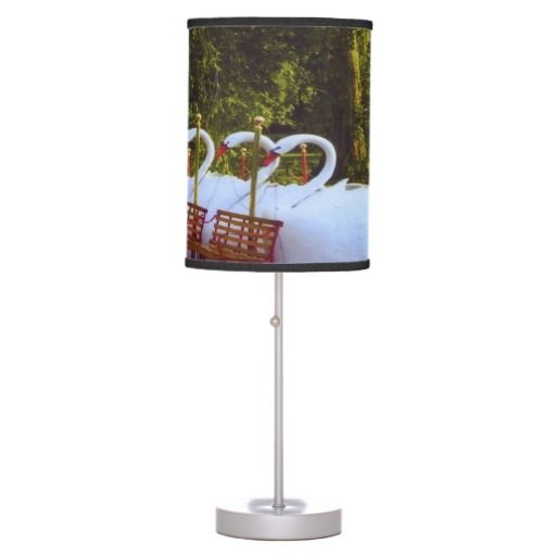 #Boston Swan Boats table lamp , home decor (bulbs are separate)