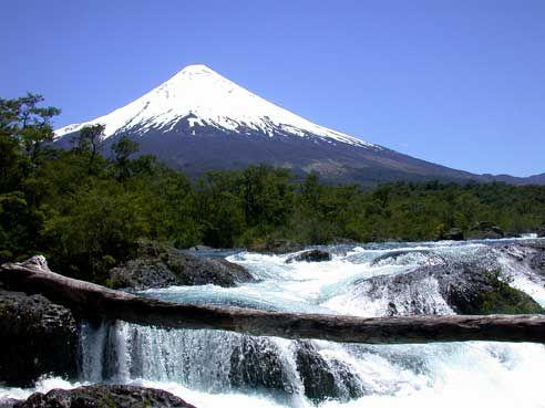 El volcán Osorno Sur de Chile, Osorno.