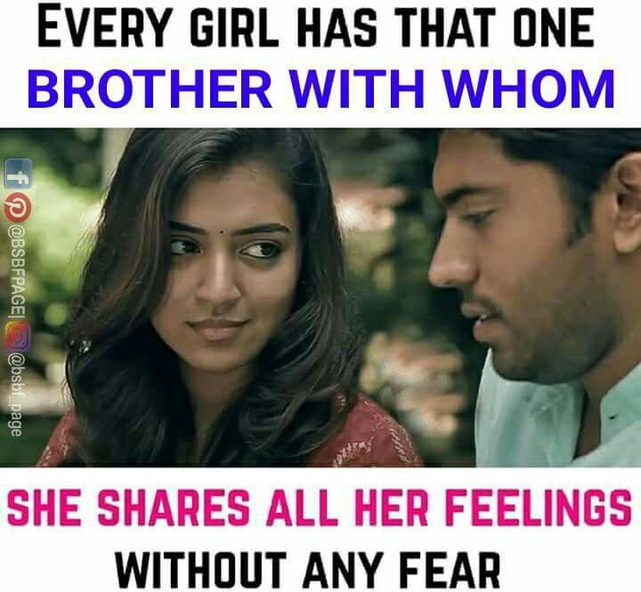 Only lucky persons have that ine | Minal | Brother sister