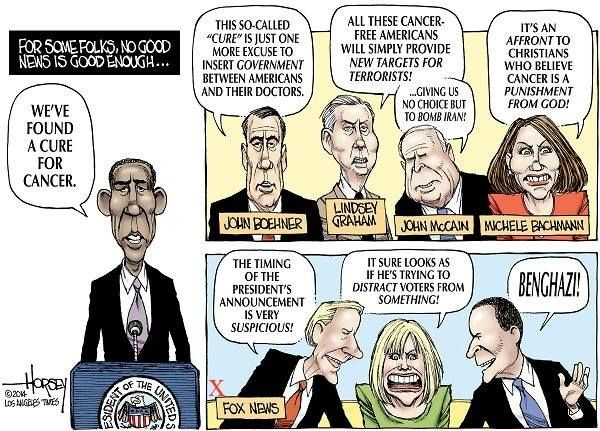Image result for fox distorting obama words cartoon