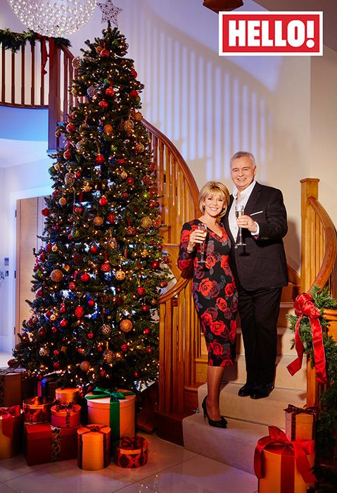 Eamonn Holmes and Ruth Langsford invite HELLO! into their ho-ho-home for Christmas