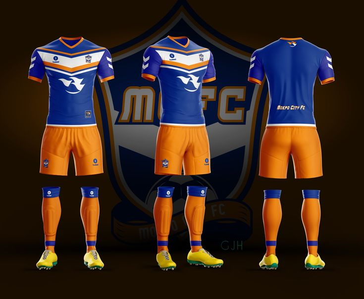Soccer Uniform / Mokpo City FC Imaginary uniform 2018.02.14