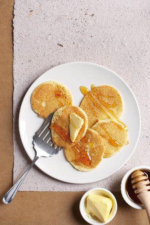 Mieliemeel-plaatkoekies  | SARIE | Maize flap jacks