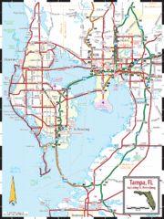 St. Petersburg, Florida City Map