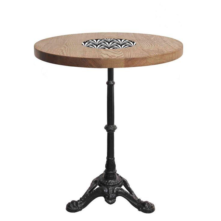 Table De Bistrot Carree