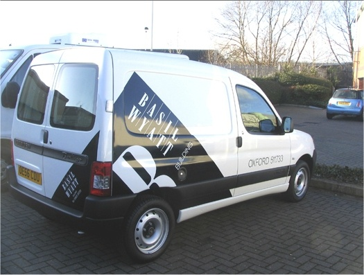 Vehicle wraps and van Graphics from Chris Drewett Signs: http://www.drewettsigns.co.uk/vans.asp