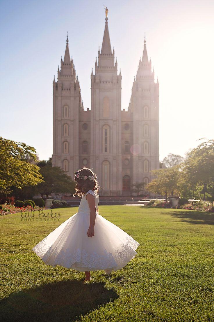 child photography, SLC Temple, LDS Baptism, Baptism, Kelli Packer Photography, SLC Photography, Utah Photography