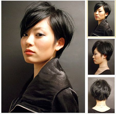 This is a combination between a pixie and a really short bob. If you want to make your hair look fantastic, then all you have to do is to style so that it has a lot of volume and that your bangs cover one side of your face.