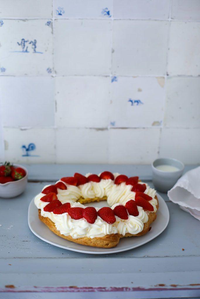 rezept f r brandteig windbeutel kranz paris brest mit cheesecake f llung recipe foodography. Black Bedroom Furniture Sets. Home Design Ideas