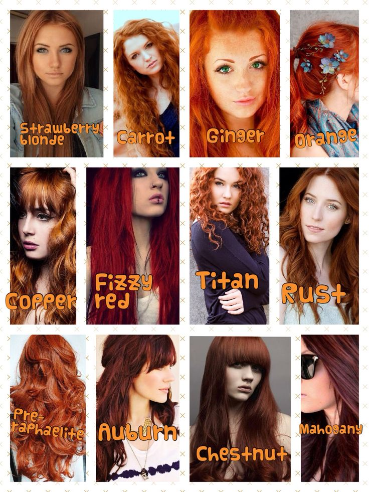 I love every shade of red ❤️ my hair is definitely a Titan ginger !