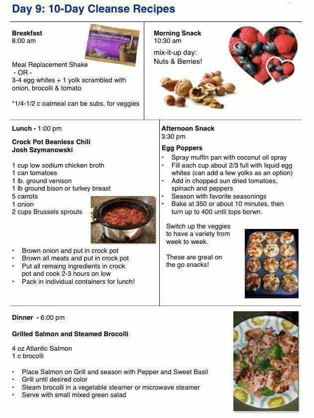 Advocare Cleanse Recipes Days 1 10 Sante Blog