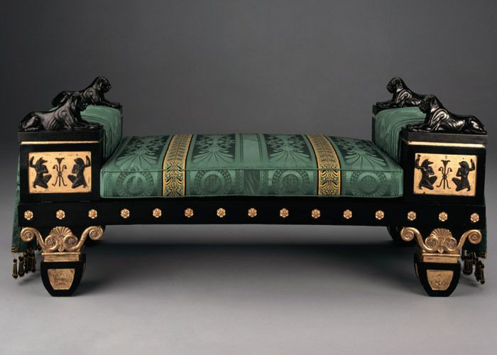 Regency Style Egyptian Settee By Thomas Hope. Very opulent, but WOW! If i had to choose a signature piece, focal point etc. this would be it.
