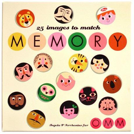 119:- Memory - Ingela P Arrhenius, Ansikten