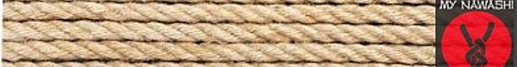 Hand made Japanese style jute Shibari/Kinbaku rope by MyNawashi