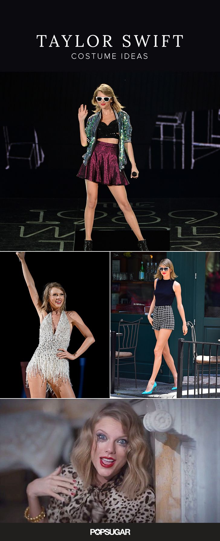 If ever there was a time to channel Taylor Swift for Halloween, this is it!