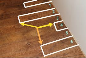 A Blessed Life atop A Cake Stand: How to Install Vinyl Plank Flooring