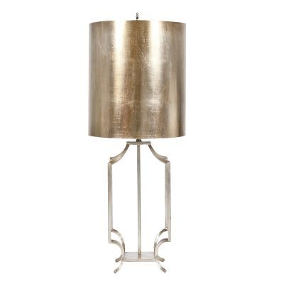 Windham Lamp- Silver Leaf - Clayton Gray Home
