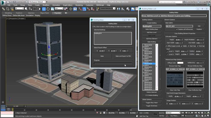 3ds Max - Creating City Blocks - Part 25 - Creating Building Libraries w...