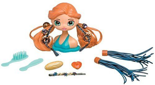 Betty Spaghetty Stylin Head's Hippy Chic by Ohio Art. $9.99. Mixes with every Betty Spaghetty Set. Hippy Chic's head removes from the base and mixes with every Betty Spaghetty® set.. She comes apart but she's so together!. Betty Spaghetty offers millions of ways to mix her up. Check out Hannah's hippie look! Style her hair to show off her fun hippie fashion sense!. From the Manufacturer                She comes apart but she's so together! It's Hippie Chic Hannah! Check ou...