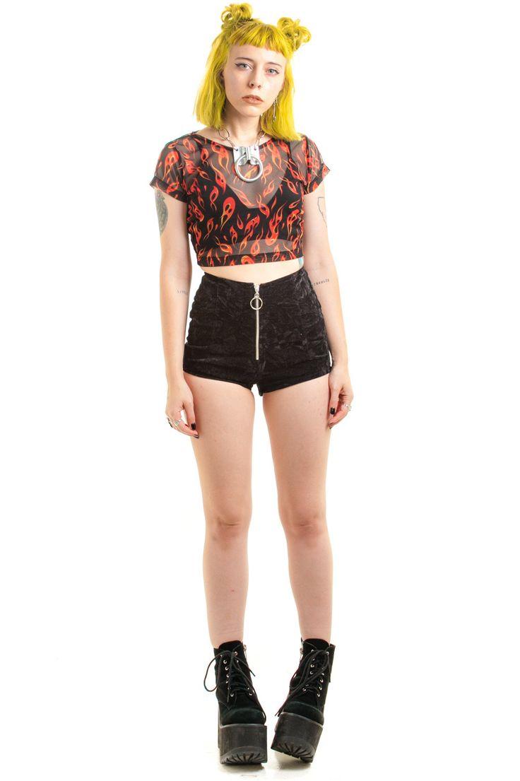 PRE-ORDER: #1 Crush Zip-Up Shorts
