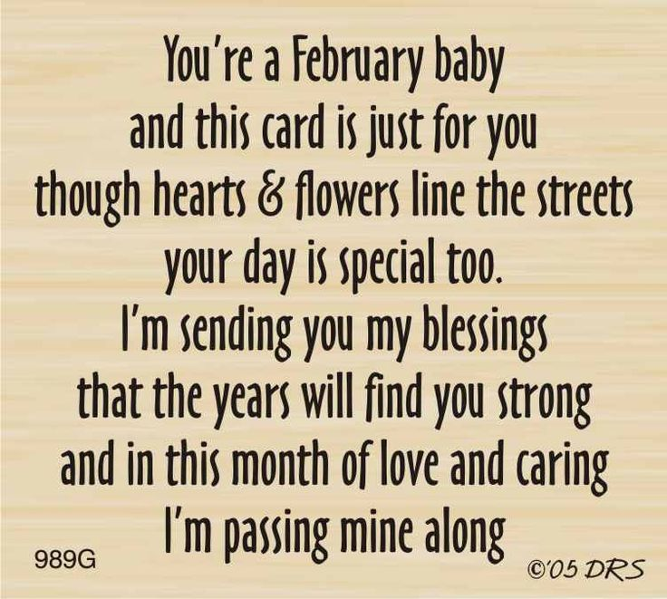 DRS Designs - February Birthday Greeting, $10.00 (http://www.drsdesigns.com/february-birthday-greeting/)