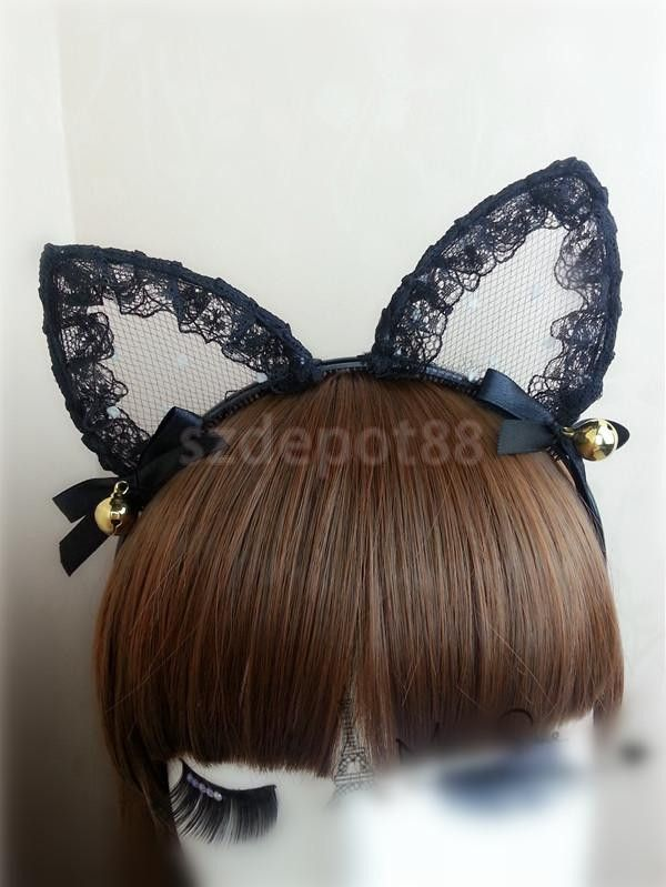 You'll say OMG when you see this Small Bell Black ... Check it out! http://catrescue.myshopify.com/products/small-bell-black-cat-ears-headband?utm_campaign=social_autopilot&utm_source=pin&utm_medium=pin