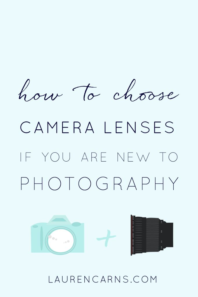 how to choose a camera lenses if you are new to photography